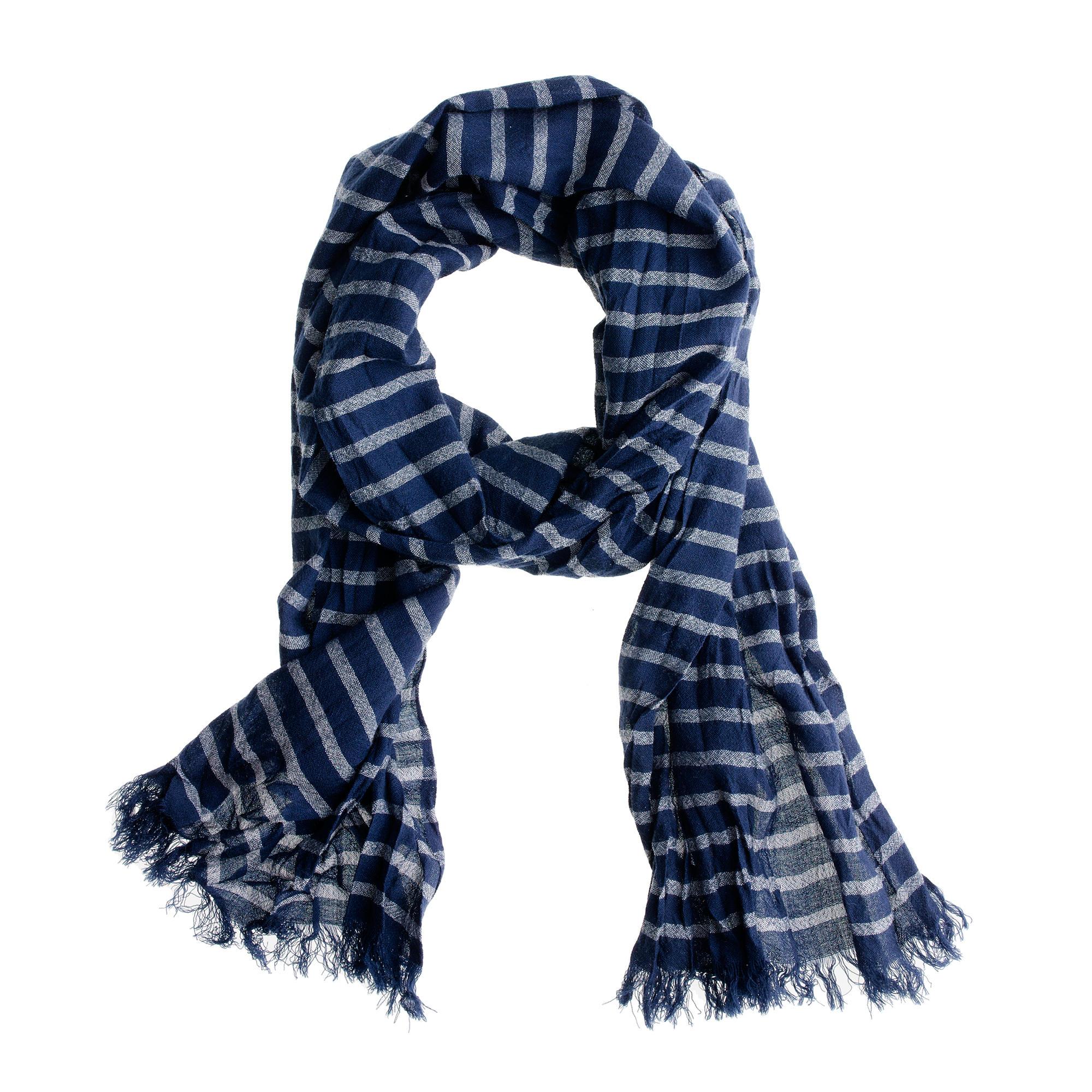 crinkled wool scarf j crew