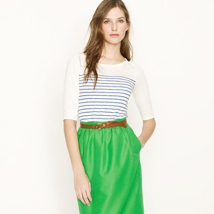Painter stripe bateau tee