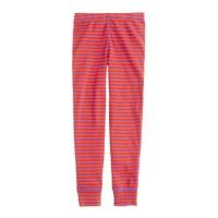 Girls' sleep pant in posie stripe