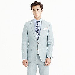 Ludlow suit jacket in Japanese chambray