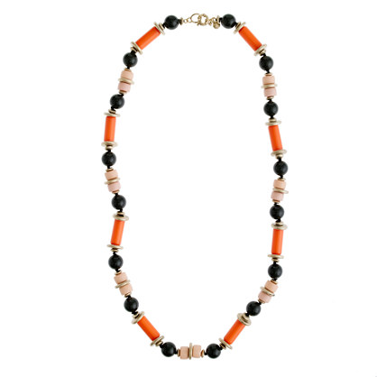 Bright beads necklace