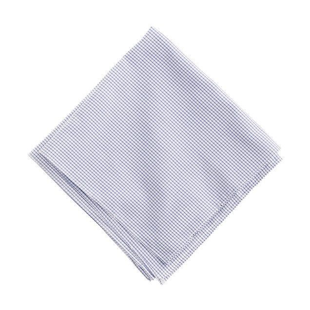 Microtattersall pocket square