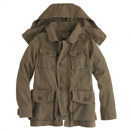 Boys' Garrison fatigue jacket