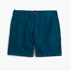 "7"" Stanton short in garment-dyed cotton"