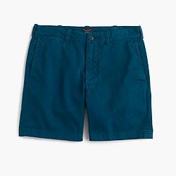 """7"""" Stanton short in garment-dyed cotton"""