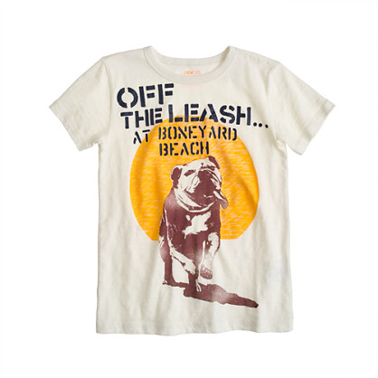 Boys' off the leash tee