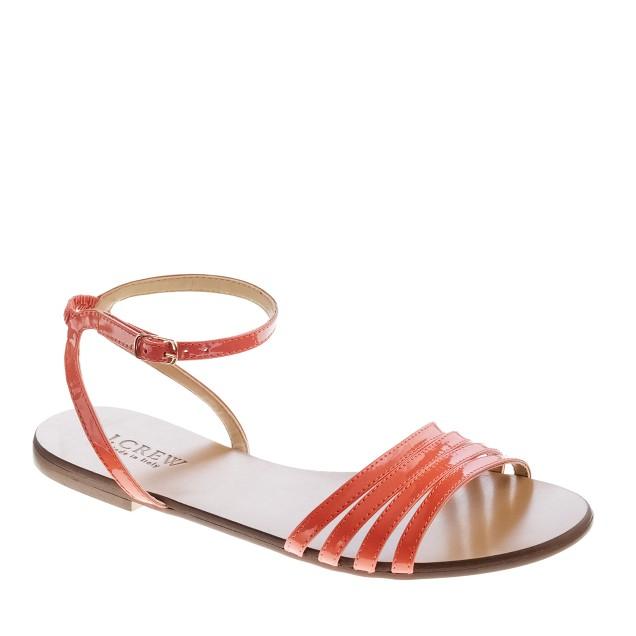 Lilibeth patent sandals