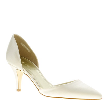Valentina satin d'Orsay pumps