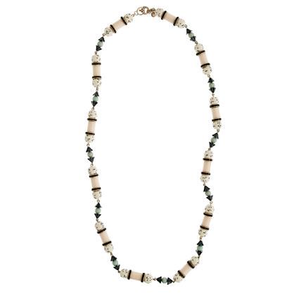 Polka-dot necklace
