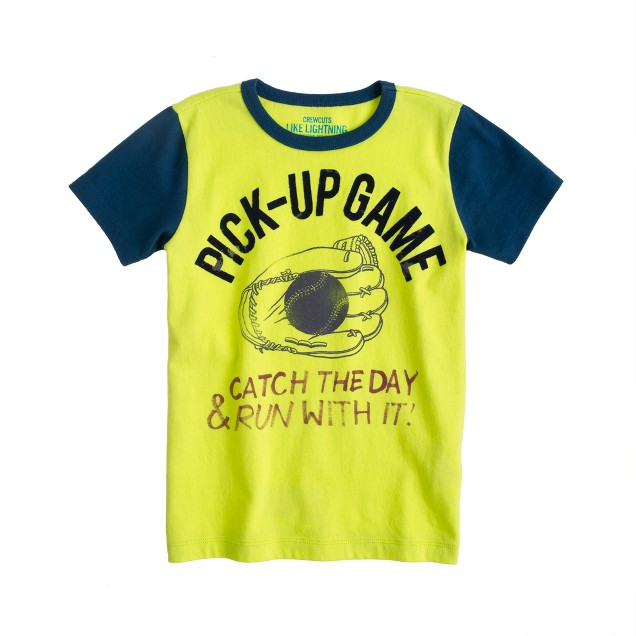 Boys' pick-up game tee