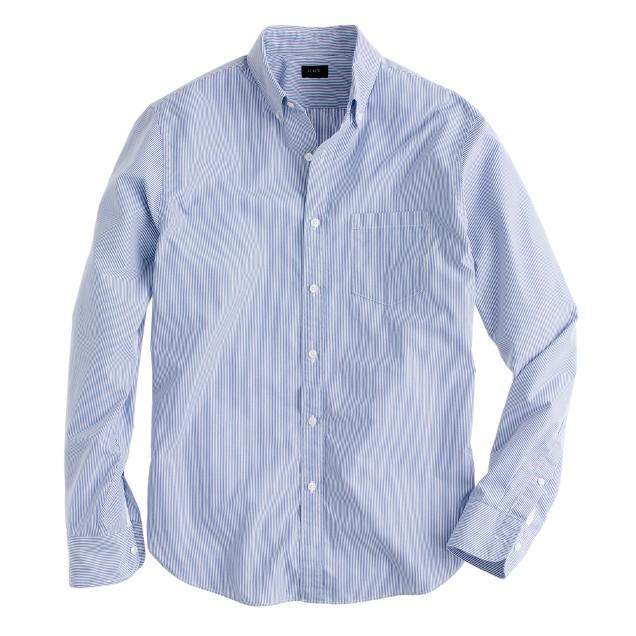Tall Secret Wash shirt in banker stripe