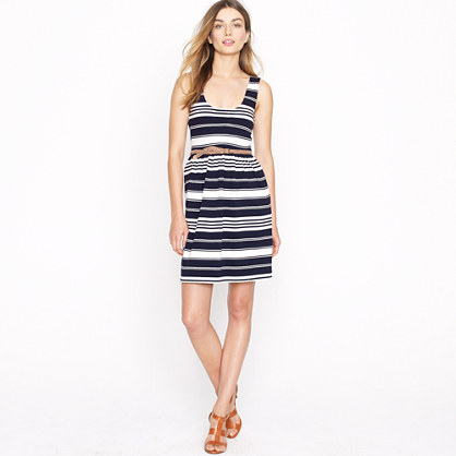 Villa dress in stripe