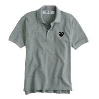 PLAY Comme des Garçons® polo shirt in grey