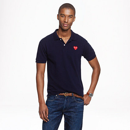 PLAY Comme des Gar�ons® polo shirt in navy