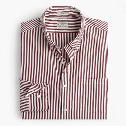 Secret Wash shirt in bold stripe