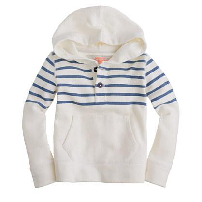 Boys' fleece popover hoodie