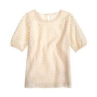Collection pinwheel eyelet top
