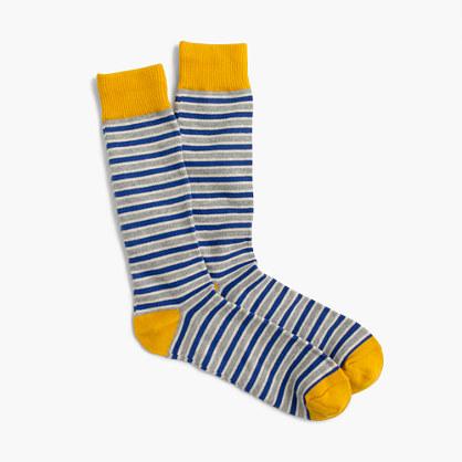 Triple-stripe socks