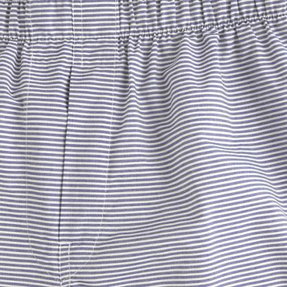 Horizontal-stripe boxers