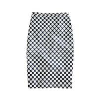 No. 2 pencil skirt in Pop Art polka dot