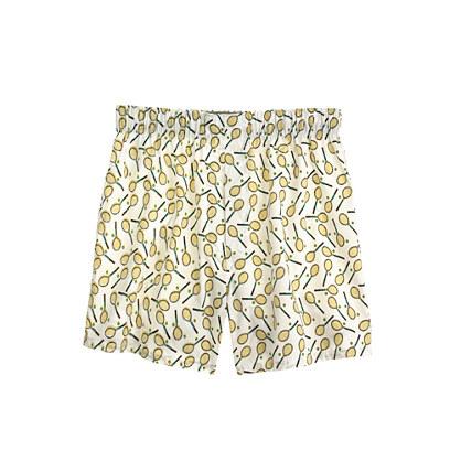 Tennis racket print boxers