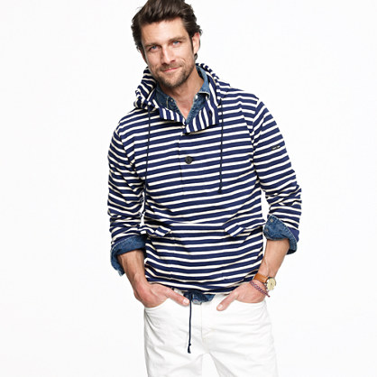 Saint James® for J.Crew meridien II hoodie