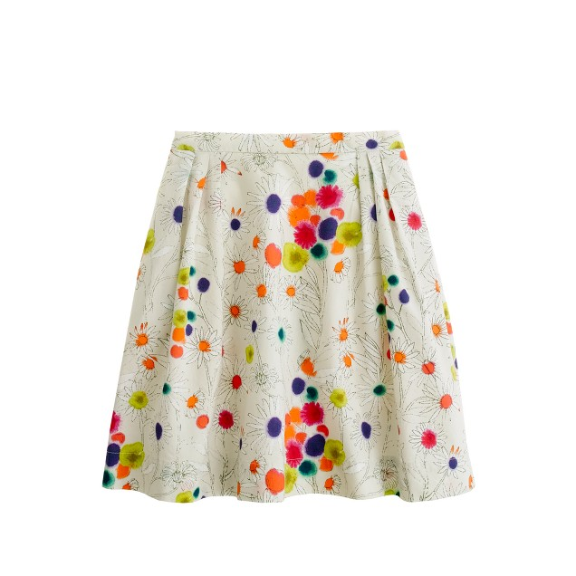 Girls' wildflower skirt