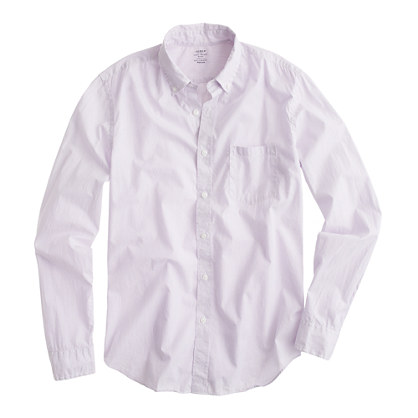 Secret Wash lightweight shirt in Hancock stripe