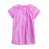 Girls' button tunic
