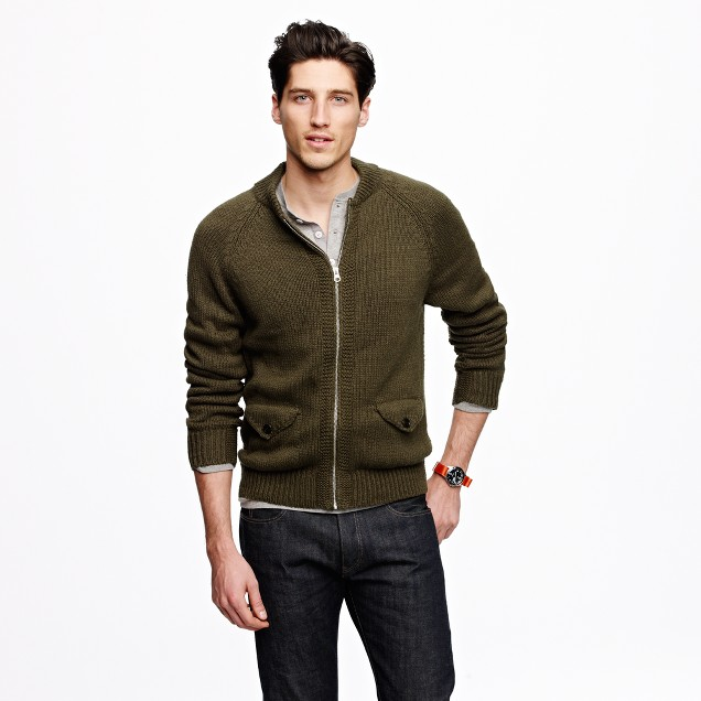 Wallace & Barnes fatigue sweater
