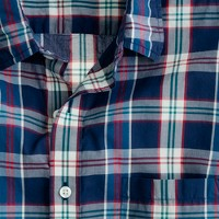 Secret Wash lightweight shirt in Pattersen plaid