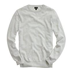Tall Italian cashmere crewneck sweater