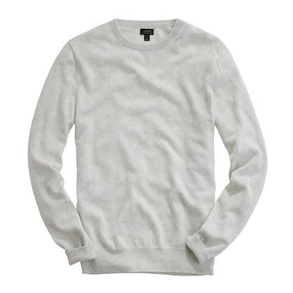 Italian cashmere crewneck sweater