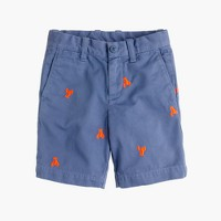 Boys' Stanton critter short in lobsters