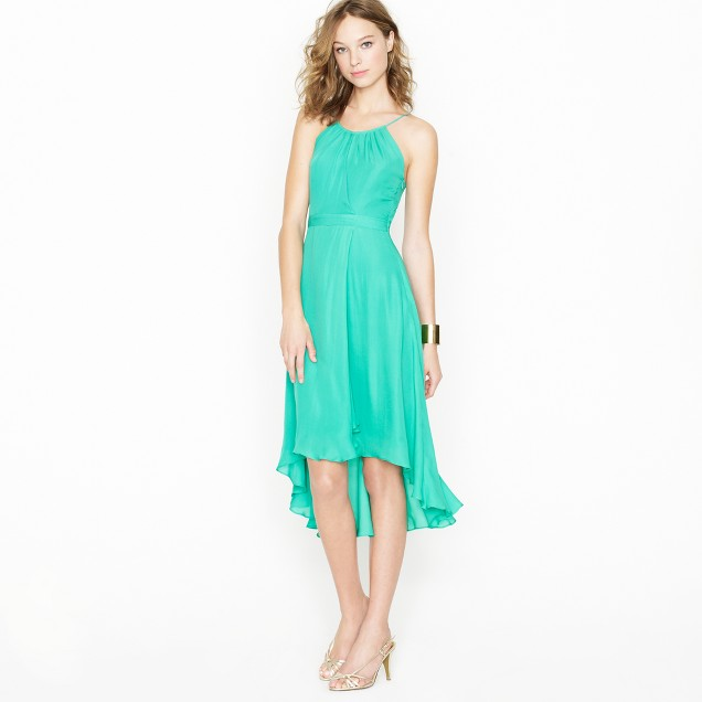 Odessa dress in silk georgette