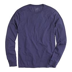 Broken-in long-sleeve T-shirt