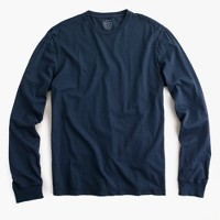 Broken-in long-sleeve T-shirt