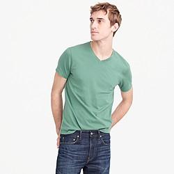 Tall broken-in V-neck T-shirt