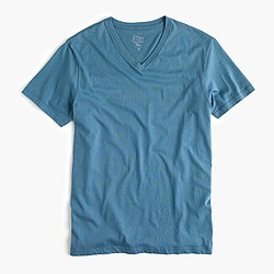 Broken-in V-neck T-shirt