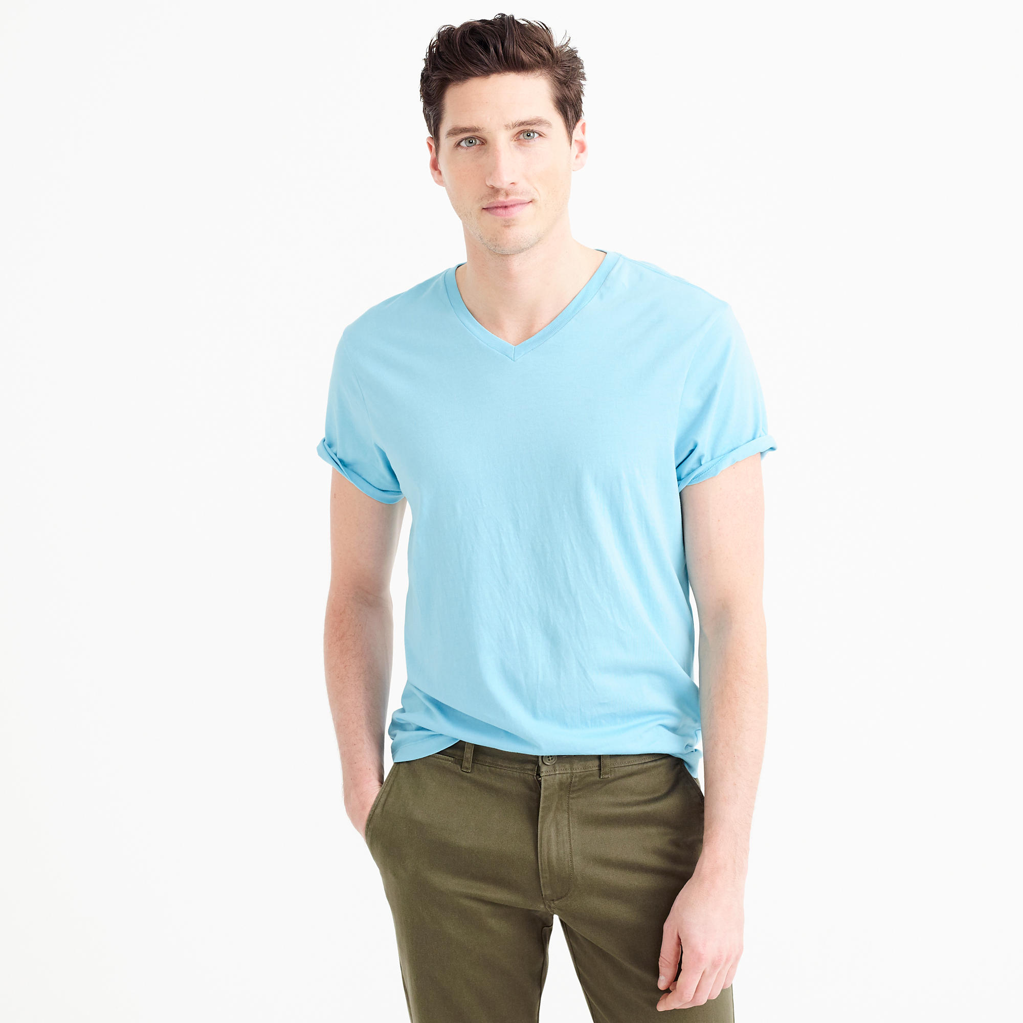 Garment-Dyed T-Shirt : Men's Tees | J.Crew