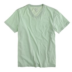 Broken-in V-neck T-shirt