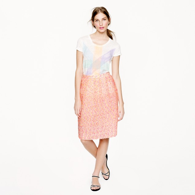 Collection confetti gauze skirt