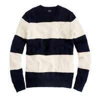 Rugby-stripe sweater