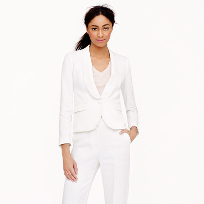 Collection tuxedo jacket in Italian linen