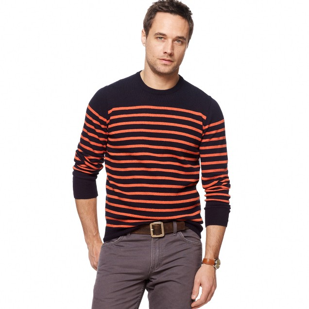 Mariner-stripe sweater