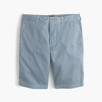 """10.5"""" short in garment-dyed cotton"""