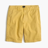 "10.5"" short in garment-dyed cotton"