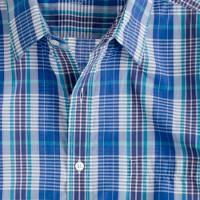 Secret Wash lightweight shirt in Shelton check