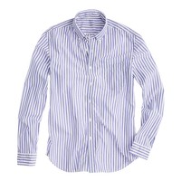 Secret Wash lightweight shirt in sea stripe