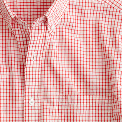 Secret Wash lightweight shirt in Matthews check